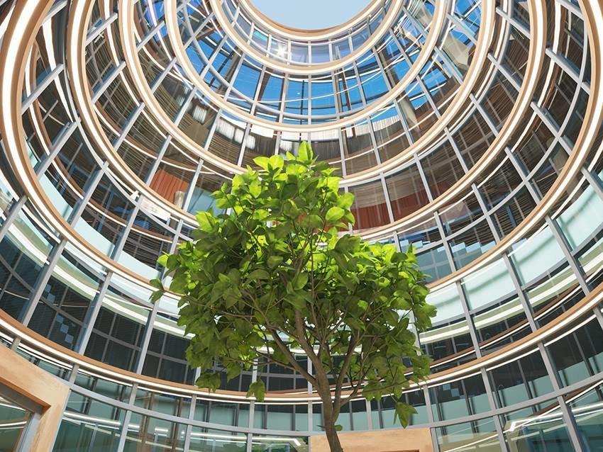Сумской архитектор показал проект торгового комплекса «Набережный», фото-10