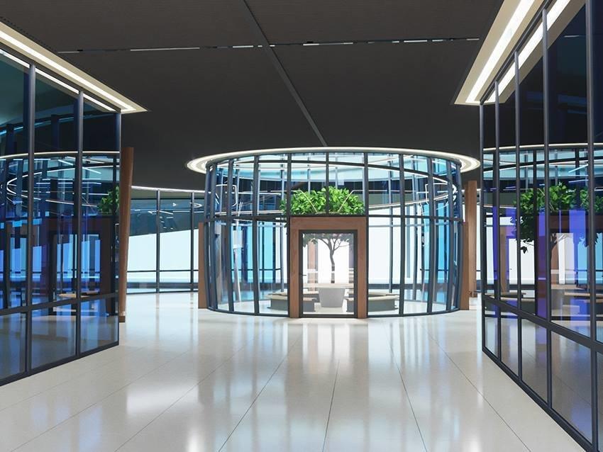 Сумской архитектор показал проект торгового комплекса «Набережный», фото-16