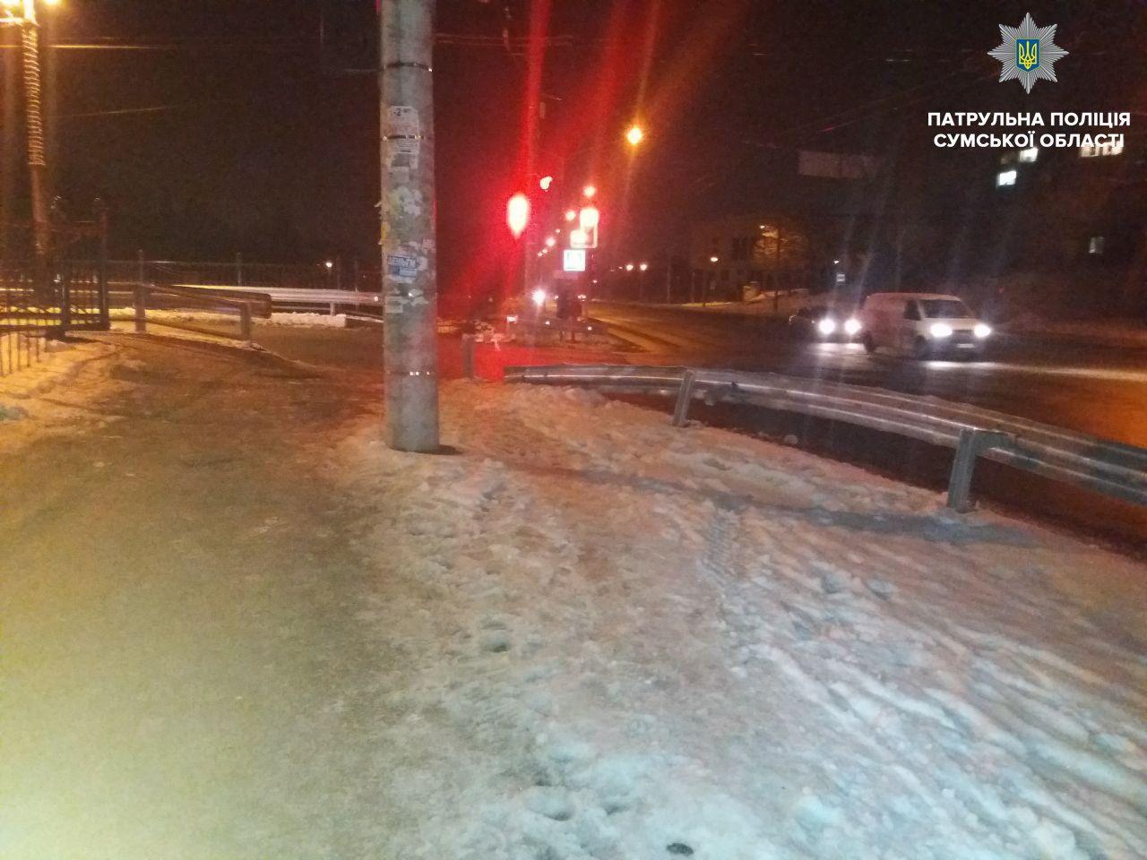 В Сумах водитель Руты совершил ДТП и скрылся , фото-2