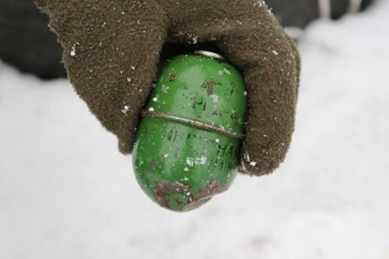 Суманин нашел пакет с боеприпасами, фото-2