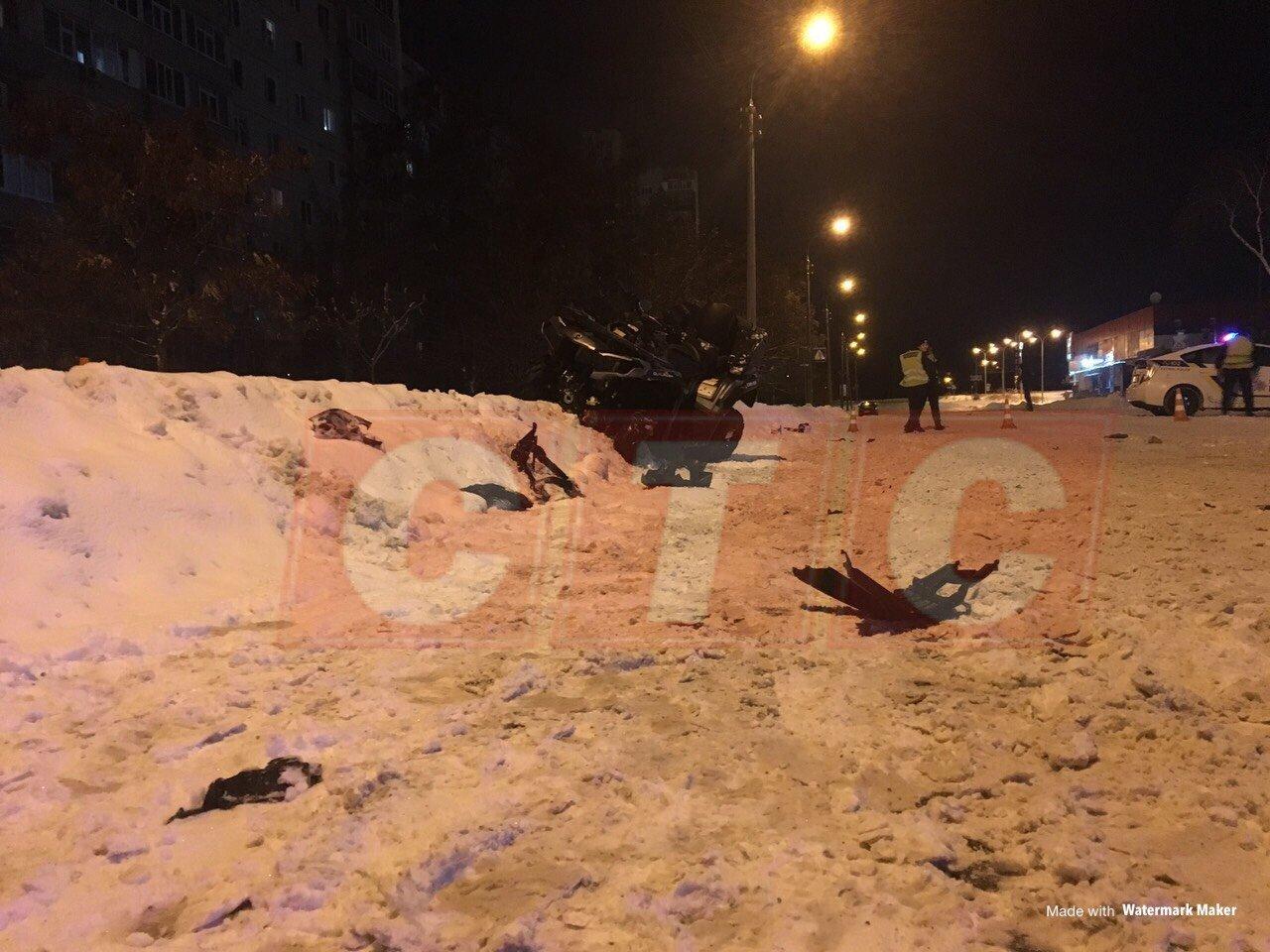 В Сумах квадроцикл столкнулся с авто. Есть пострадавшие, фото-6