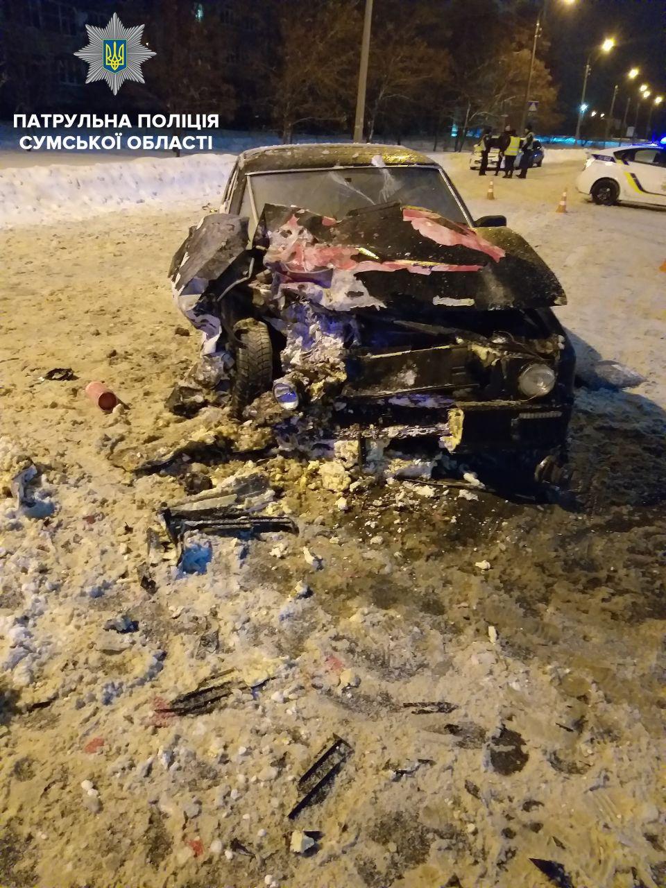 Патрульные рассказали про ДТП в Сумах, в котором пострадали водитель и пассажирка квадроцикла , фото-3