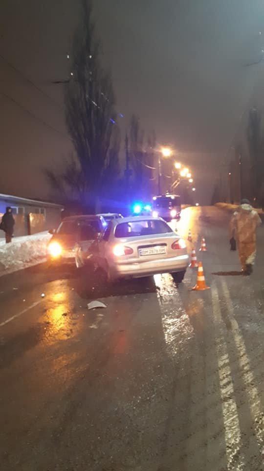 В Сумах на Курском мосту произошло масштабное ДТП, фото-4
