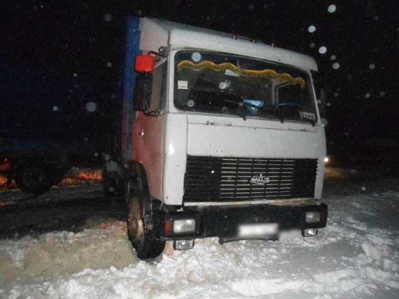 На Сумщине грузовик столкнулся с легковушкой, фото-4