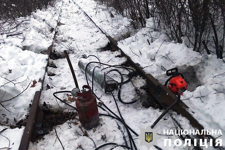 Двое жителей Сумского района украли четыре километра рельсов на 4 миллиона гривен, фото-4