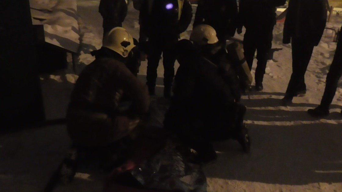 В Сумах спасли человека при пожаре, фото-1