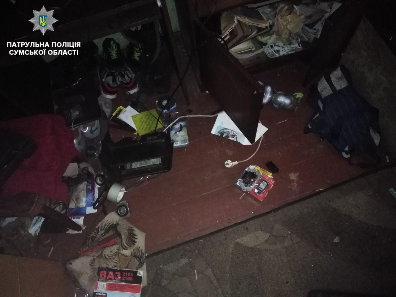 В Сум патрульные обнаружили автоворов, фото-1