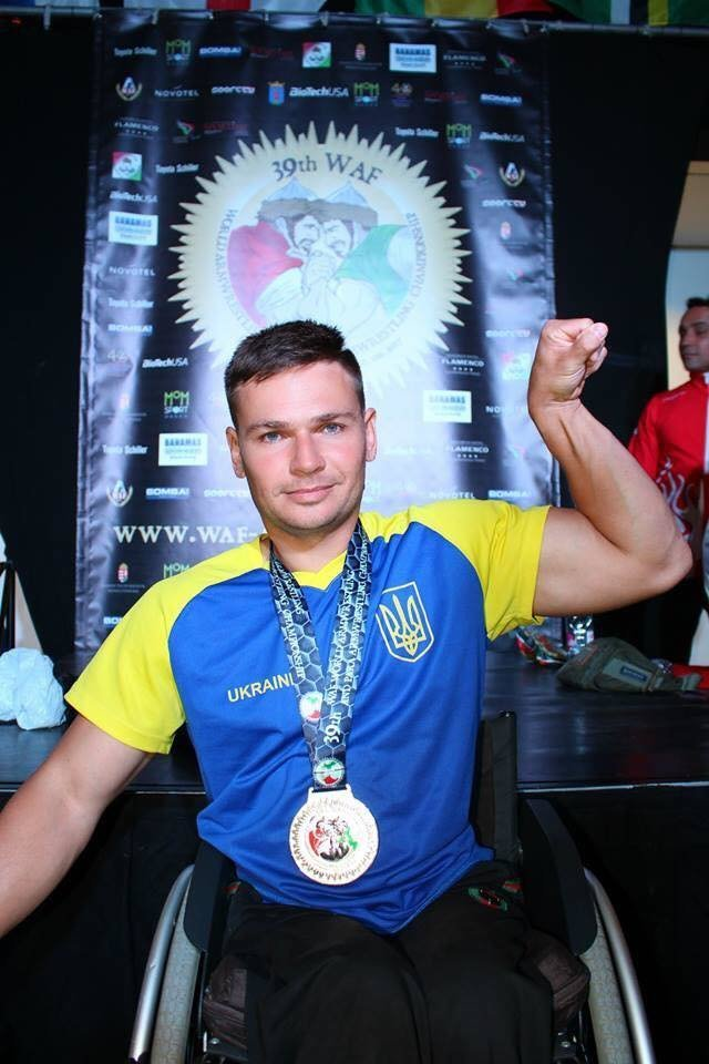 Сумчанин с инвалидностью стал заслуженным мастером спорта , фото-1