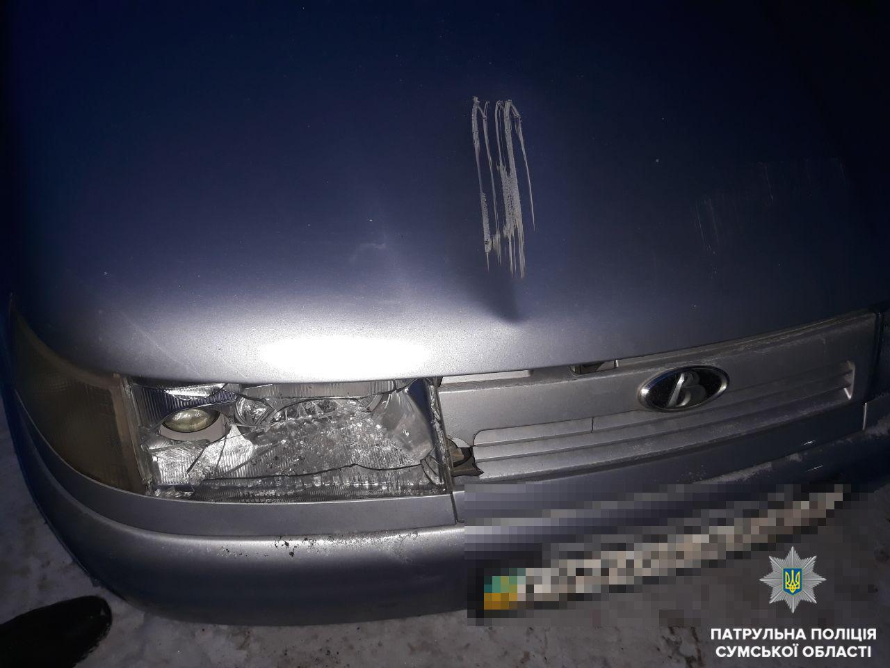 В Сумах нашли двух водителей, которые скрылись с места ДТП , фото-1