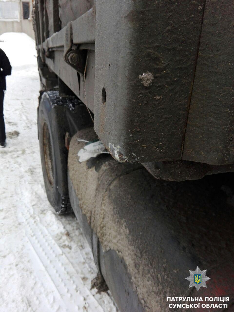 В Сумах нашли двух водителей, которые скрылись с места ДТП , фото-4