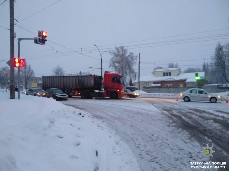 Масштабная авария в Сумах: в ДТП попали сразу 5 автомобилей, фото-1