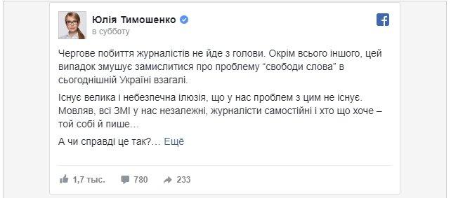 В Украине необходимо демонтировать систему большого заблуждения страны – Тимошенко , фото-1