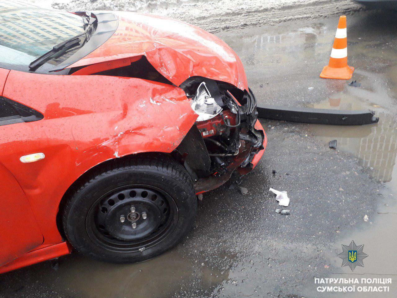 В Сумах произошло ДТП: пострадала 3-летняя пассажирка, фото-3