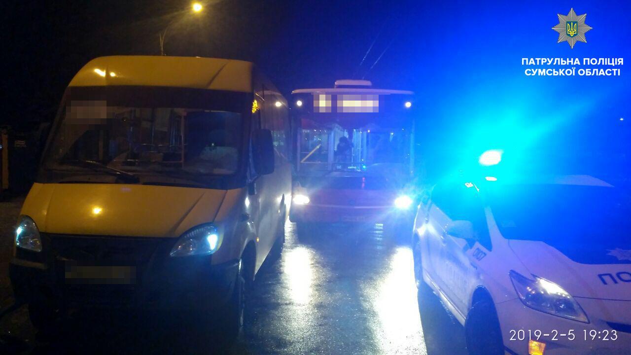 В ДТП возле автовокзала в Сумах виновен водитель маршрутки, фото-2