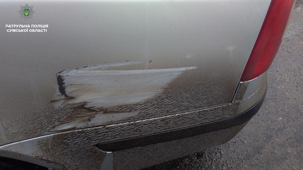 В Сумах водитель скрылся с места ДТП, фото-2