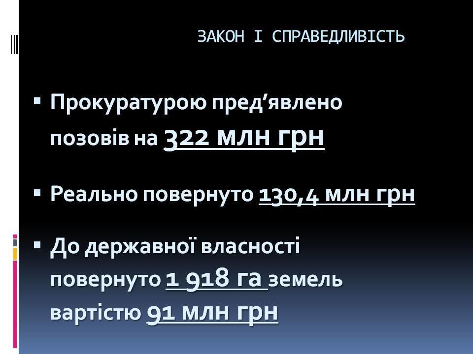 За год прокуратурой Сумщины предъявлено исков на сумму более 322 млн грн, фото-1