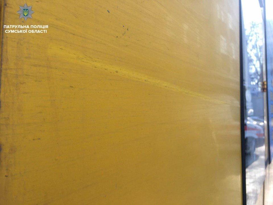 На маршрутчика, который скрылся с места ДТП в Сумах, составили 2 протокола, фото-2