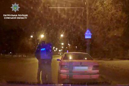 Под кайфом и без прав: в Сумах на водителя составили очередные адмиматериалы, фото-1