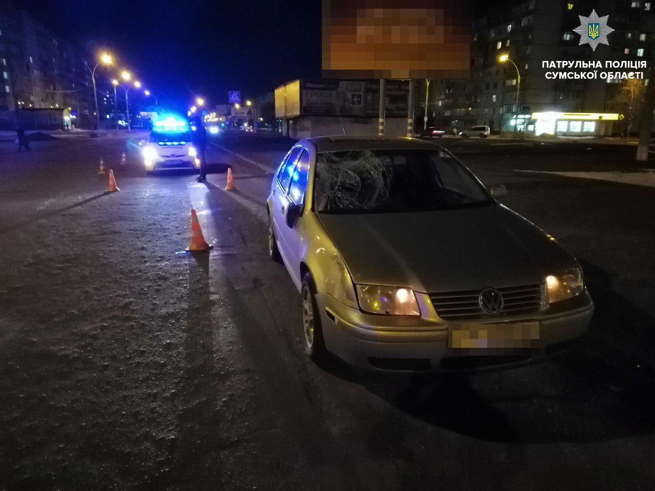 В Сумах под колесами авто погиб пешеход, фото-2
