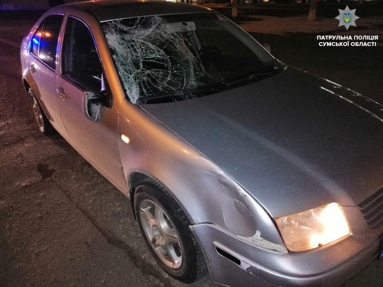 В Сумах под колесами авто погиб пешеход, фото-1
