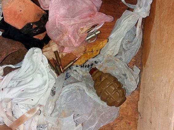 У жителя Сумщины изъяли боевую гранату и патроны к автомату, фото-1