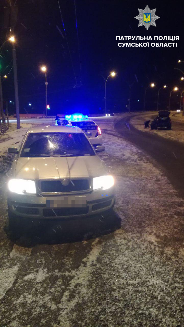 В центре Сум по вине пьяного водителя произошло ДТП, фото-3