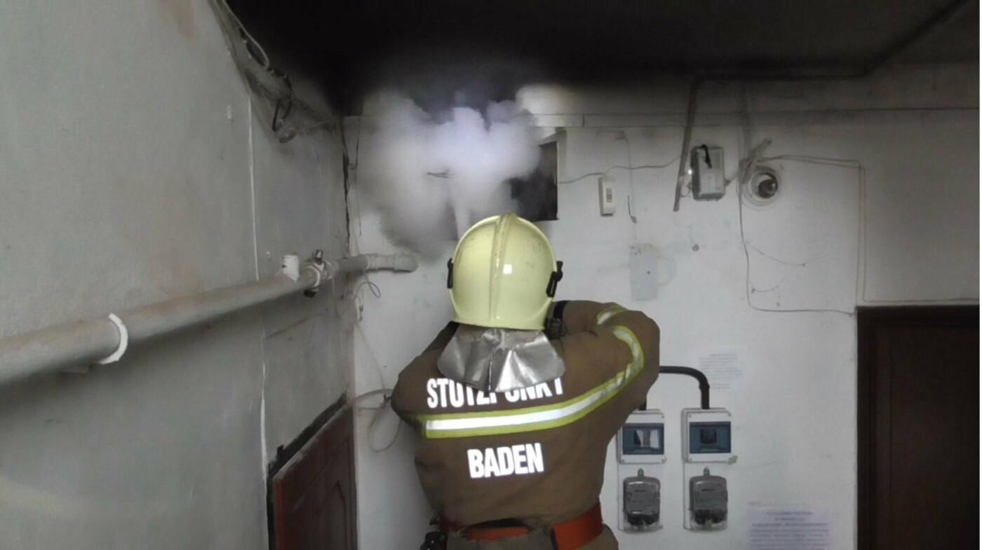 В жилом доме в Сумах загорелся электрощиток, фото-1