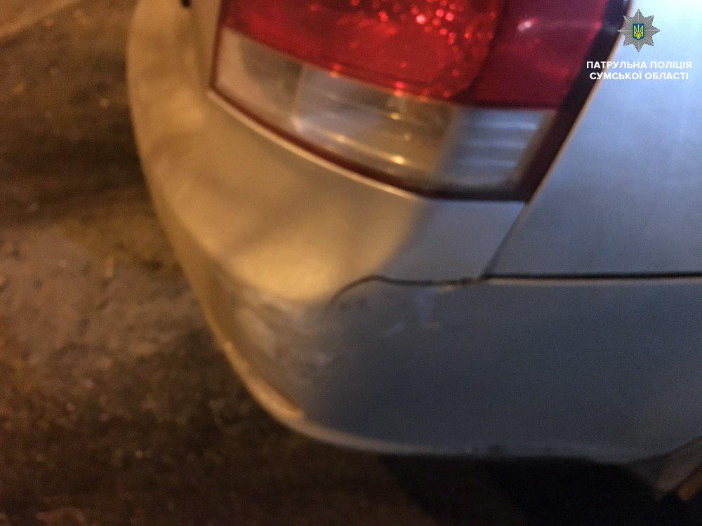 В Сумах нашли водителя, который скрылся с места ДТП, фото-1