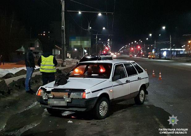В Сумах пешеход попал под колеса легковушки, фото-2