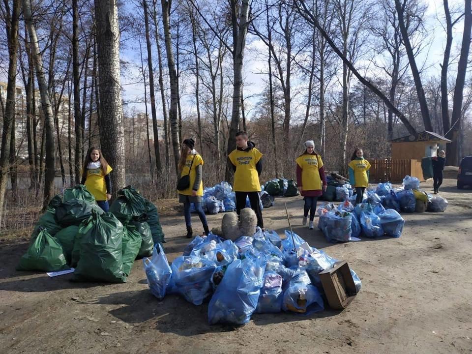 В Сумах во время акции «Час Земли» собрали почти полторы тонны мусора, фото-3