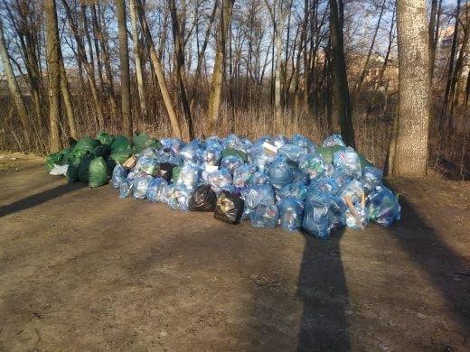 В Сумах во время акции «Час Земли» собрали почти полторы тонны мусора, фото-4
