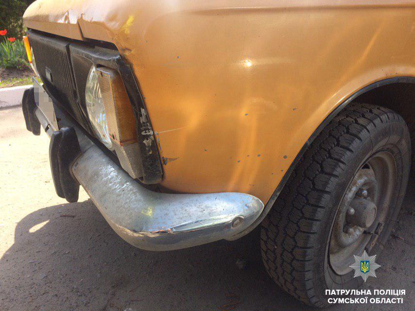 В Сумах нашли автомобиль, который скрылся с места ДТП, фото-2