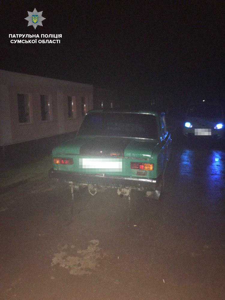 На автодороге «Сумы-Полтава» остановили пьяного водителя, лишенного прав на 3 года, фото-1