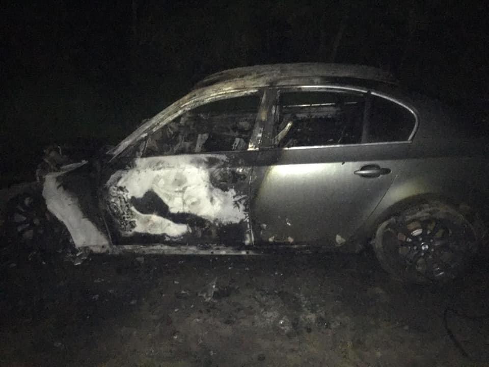 На Сумщині активісту  підпалили авто, фото-1
