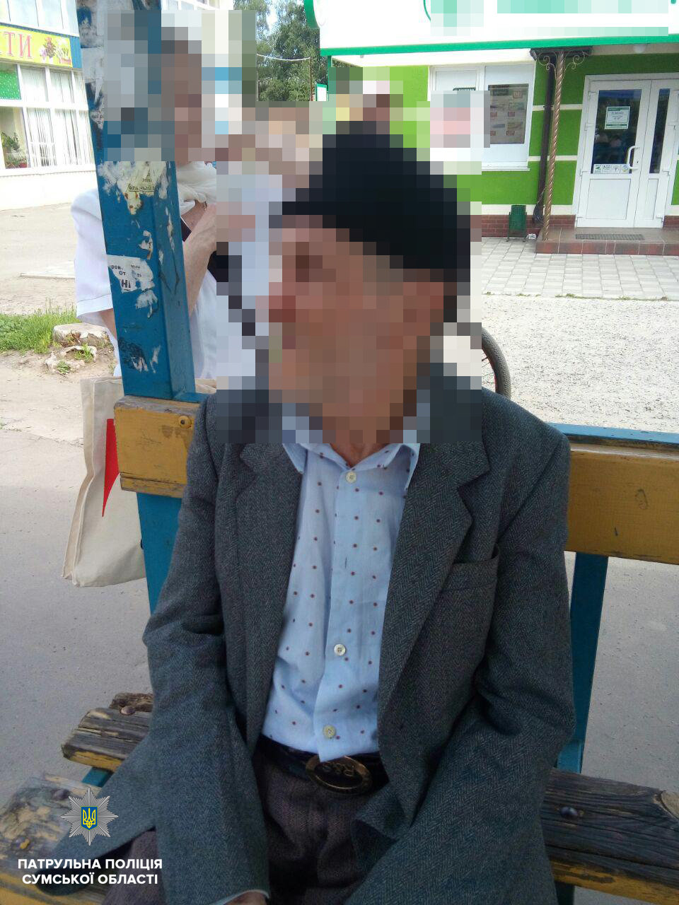 У Сумах патрульні розшукали дідуся, який загубився в місті посеред білого дня, фото-1