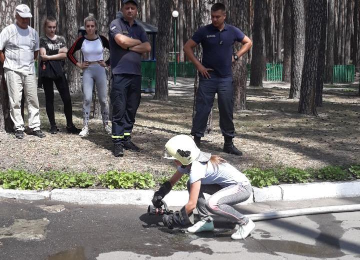 В Сумах визначено переможця обласного етапу Всеукраїнського фестивалю Дружин юних пожежних, фото-10
