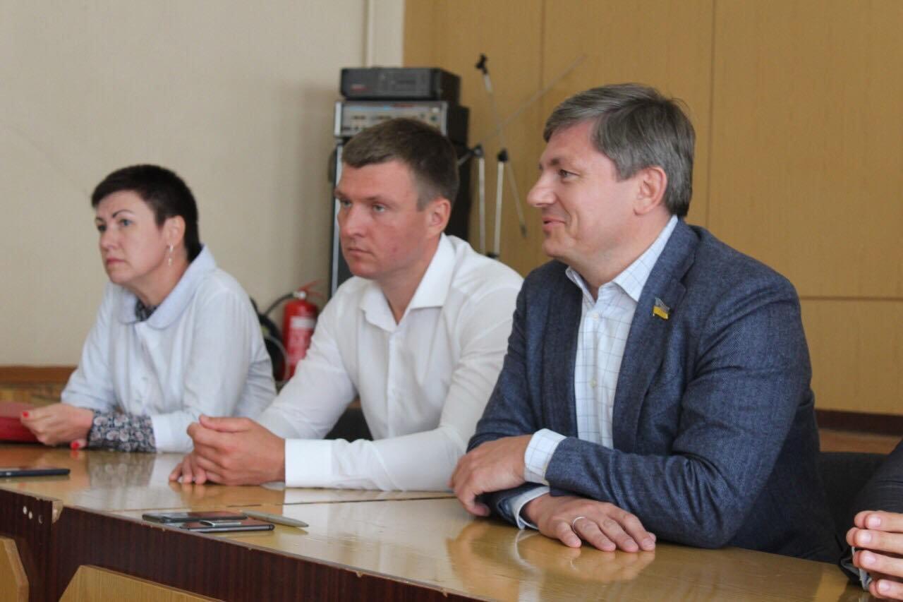 Народний депутат Артур Герасимов відвідав Сумщину, фото-1