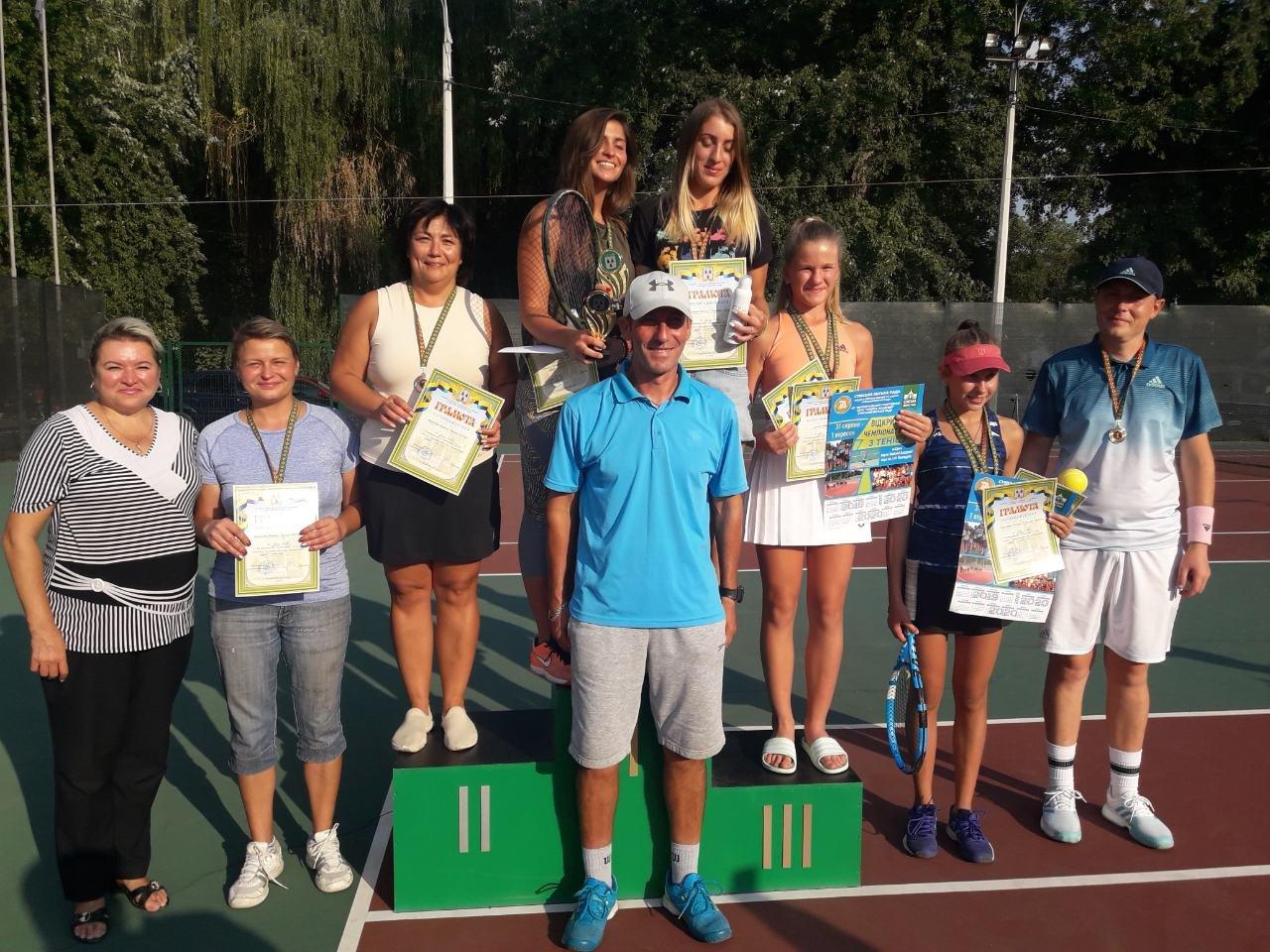 До Дня міста у Сумах провели відкритий чемпіонат з тенісу, фото-1