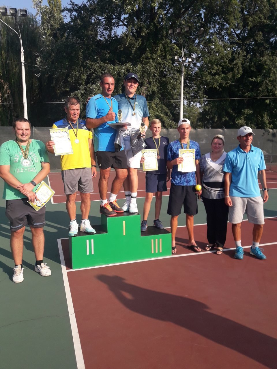 До Дня міста у Сумах провели відкритий чемпіонат з тенісу, фото-2