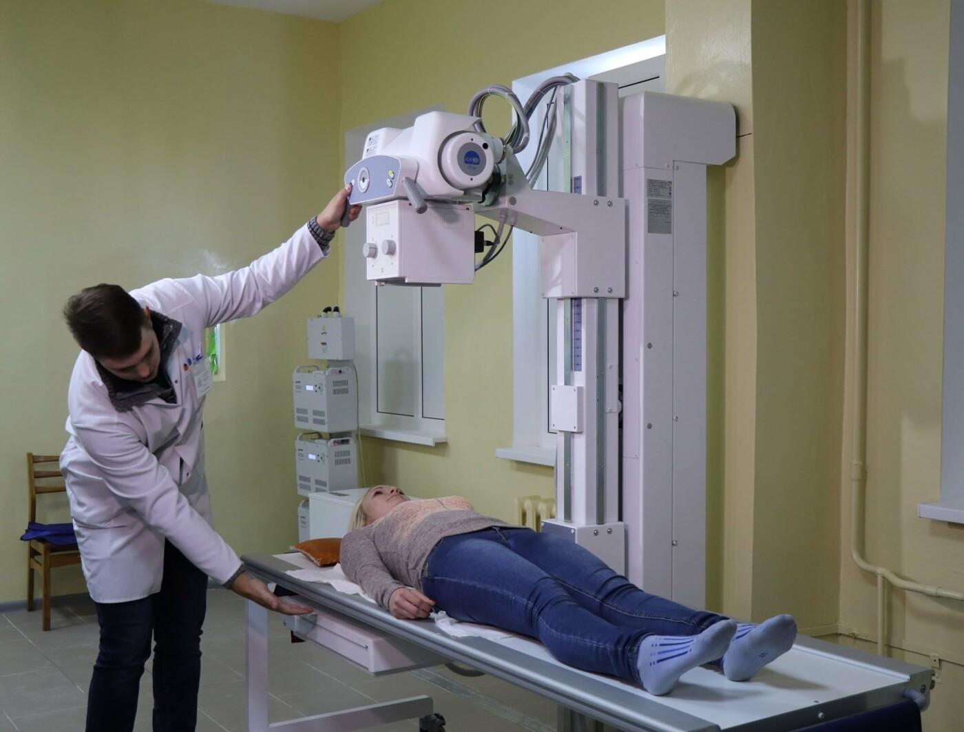 У Сумській лікарні № 5 проводять рентгенологічні дослідження на сучасному апараті, фото-2