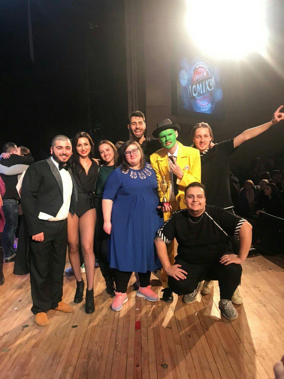 Команда СумДУ стала чемпіоном Слобожанської Ліги Сміху, фото-1