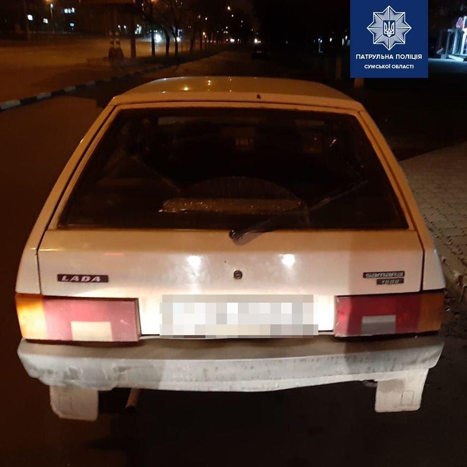 У Сумах виявили чергового нетверезого водія, який ледве тримався на ногах, фото-2