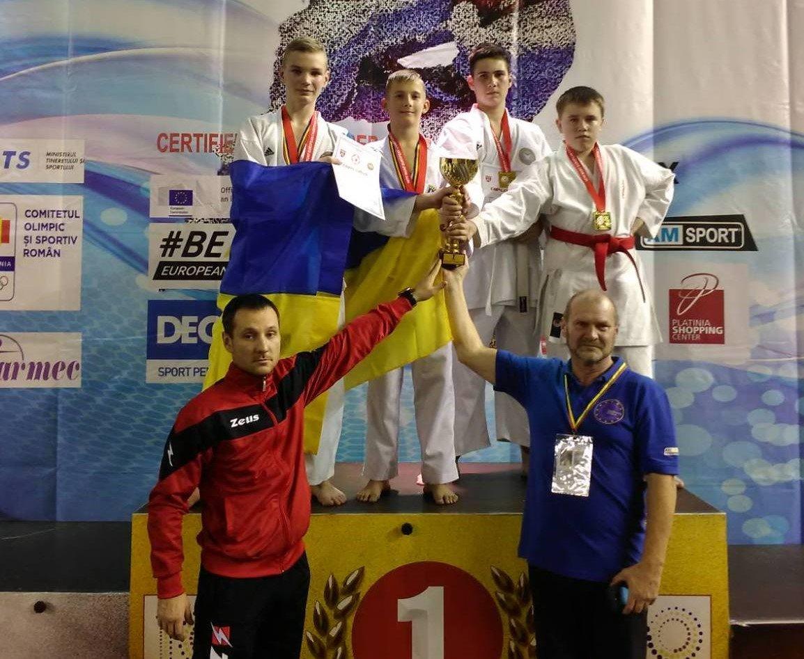 Каратисти із Сум відзначились на змаганнях у Румунії, фото-1