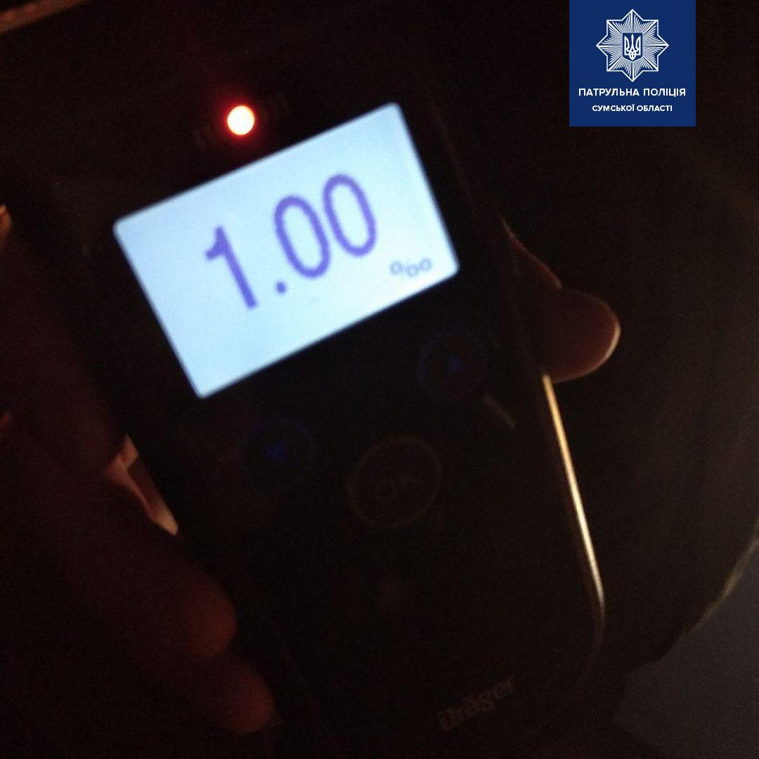 У Сумах зупинили п'яного водія на несправному авто , фото-1