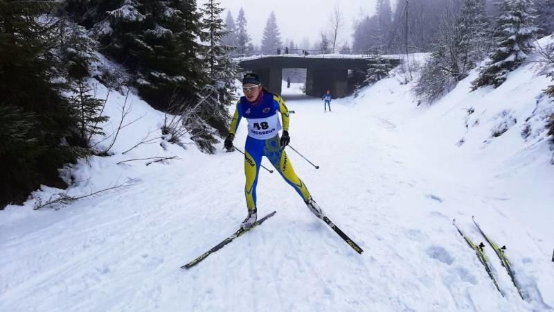Спортсменка з Сумщини взяла три золота на чемпіонаті України з лижних перегонів, фото-1