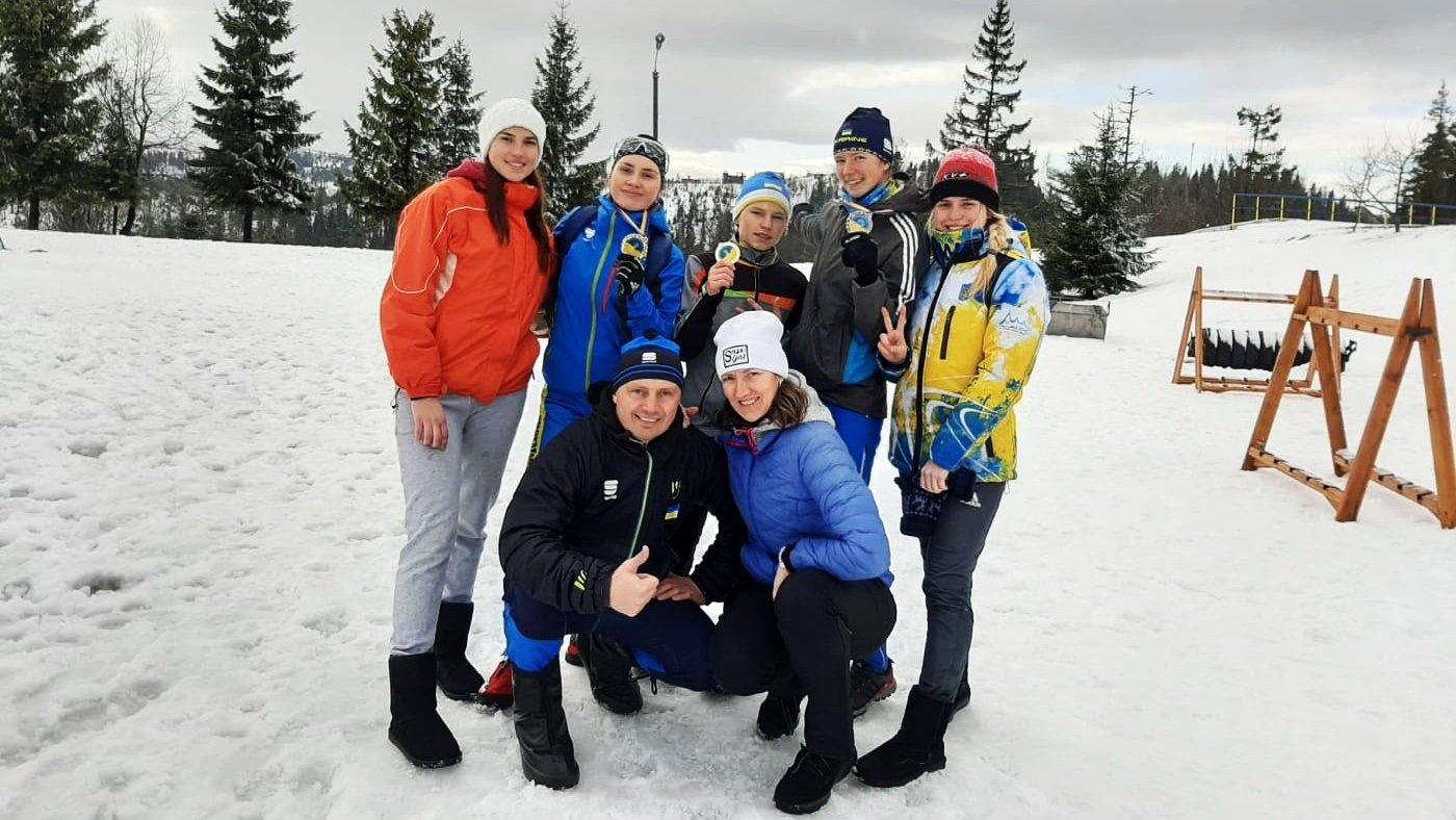 Спортсменка з Сумщини взяла три золота на чемпіонаті України з лижних перегонів, фото-3