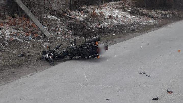 На Сумщині розбився 17-річний мотоцикліст, фото-3
