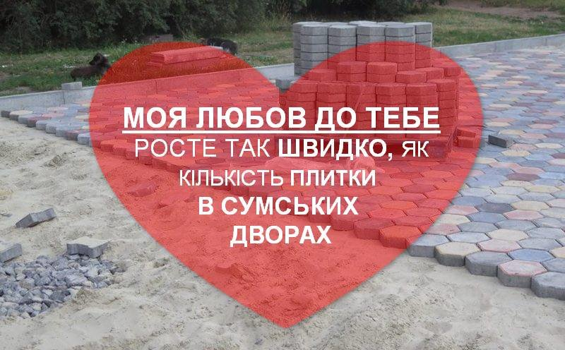 «Валентинки по-сумськи»: сумчани зізналися у коханні місту, фото-1
