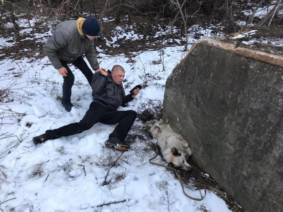 Сумчанина оштрафували майже на 4 000 грн за спробу задушити собаку, фото-1
