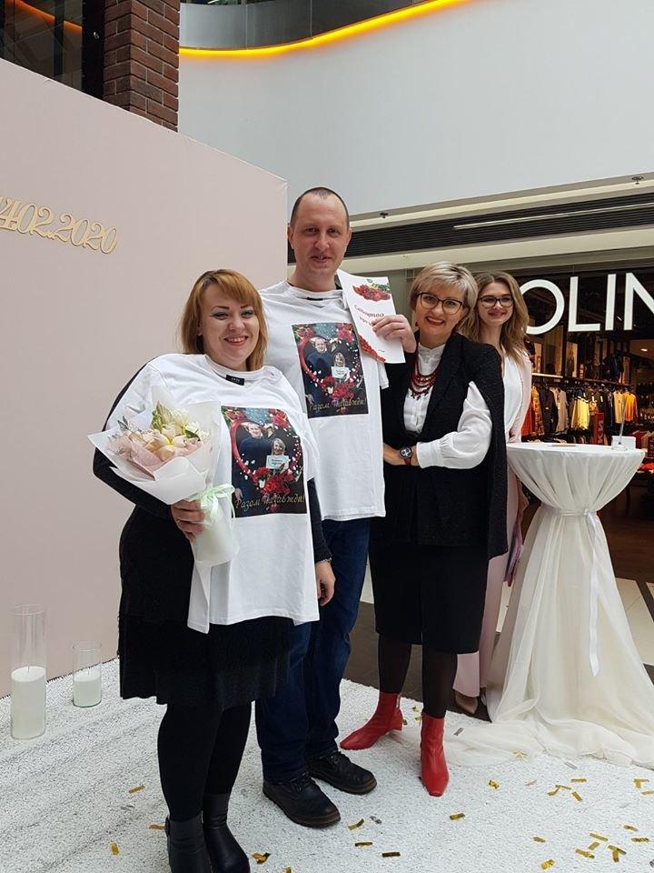 У Сумах закохана пара відзначила річницю весілля у ТРЦ «Мануфактура», фото-2